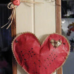 Be Mine Valentine Heart Wall Hanging