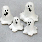 Salt Dough Ghost Family