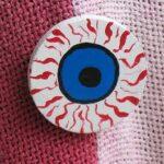 Halloween Eyeball Pin