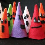 Halloween Felt Ghouls: Last Minute Easy Craft