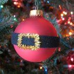 Easy Santa's Belly Ornament