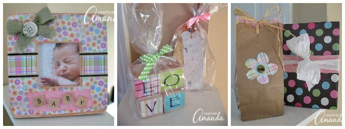 baby frame and love blocks