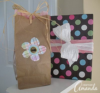 DIY baby shower gift