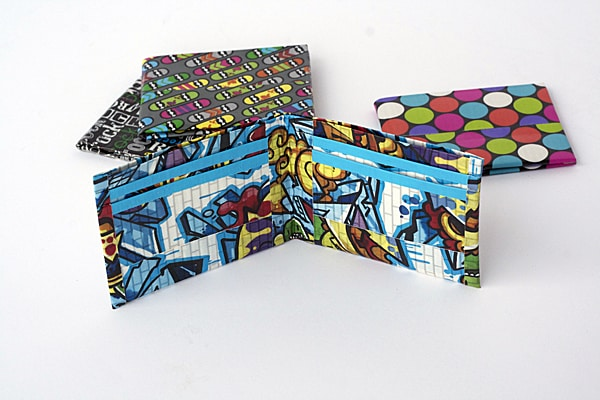 photo about Duct Tape Wallet Instructions Printable called How in the direction of Produce a Duct Tape Wallet - Crafts by means of Amanda