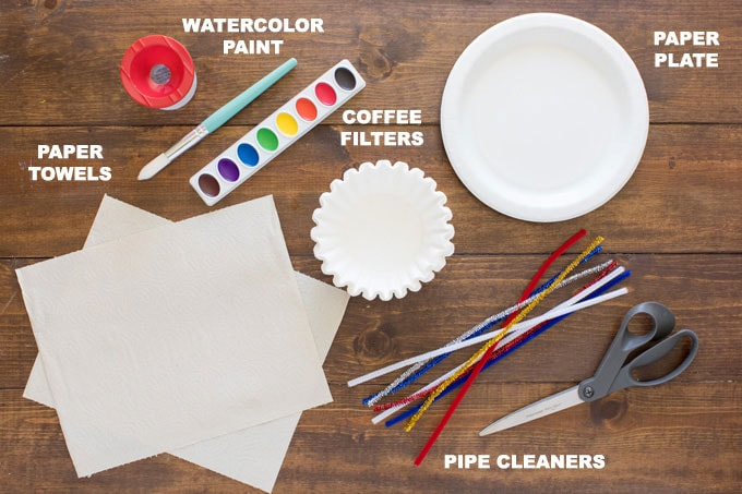 supplies for coffee filter flowers