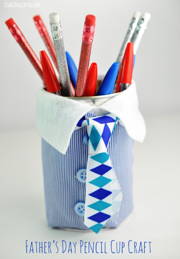 fathers day pencil cup
