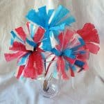 4th of July: Coffee Filter Flowers