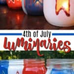 4th of july luminaries pin image