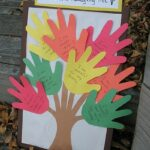 Thanksgiving Handprint Tree Craft