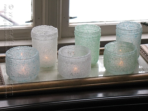 Epsom Salt Luminaries Easy Craft With Jars