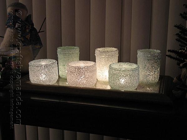 epsom salt luminaries - copyright Crafts by Amanda