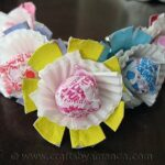Valentine Egg Carton Lollipop Flowers