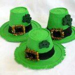Styrofoam Cup Leprechaun Hats