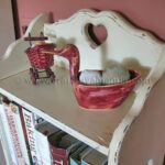 Distressed Cookbook Stand – A Redo