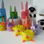 11 Cardboard Tube Crafts for Easter
