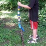 Camp Crafts: Colorful Walking Stick