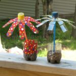 Plastic Water Bottle Flowers