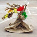 Paper Bag Tree