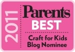 Parent's Magazine Best Blog Award – please vote! :)