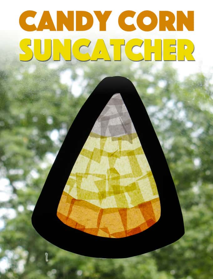 candy corn sun catcher