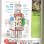 Tin Can Robot in Parents Magazine