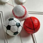 Sports Ball Ornaments