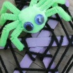 Craft Stick Spider Web FEATURED