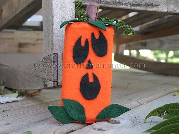 Juice Box Jack O'Lantern