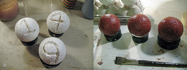 Numbered Decorative Orbs