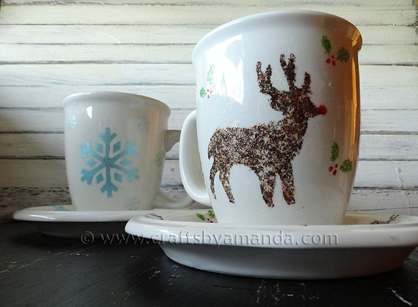 Make Your Own Holiday Tableware