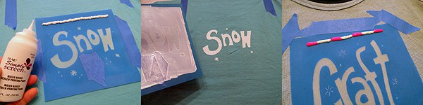 Silk Screening at Home