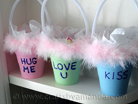 Conversation Valentine Treat Holders