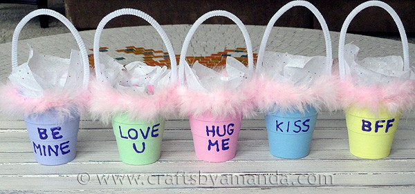 Conversation Valentine Treat Holders