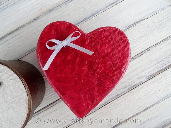 Shimmering Valentine Gift Boxes