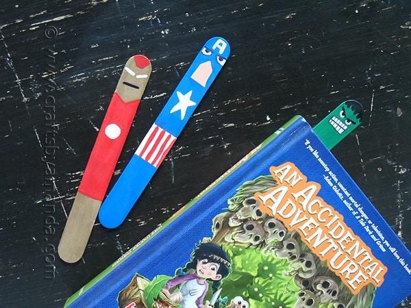 Avengers Bookmarks - craftsbyamanda.com