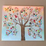 Learn How To Make This Vibrant Button Tree