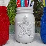 Epsom Salt 4th of July Star Jars