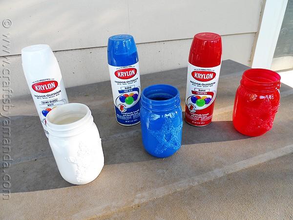 Epsom Salt Star Jars
