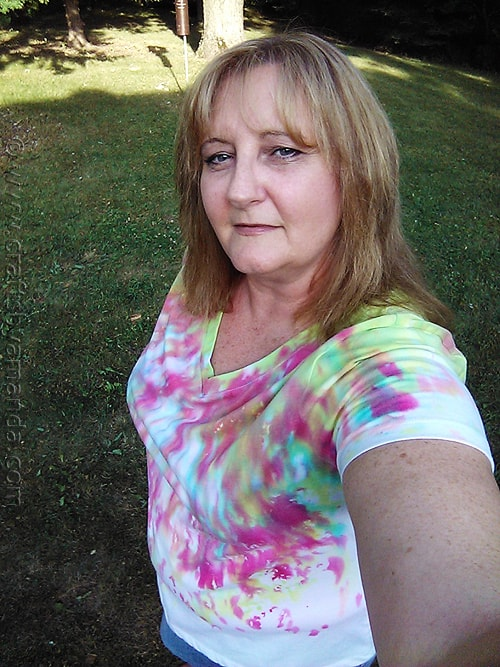 How to Make Drip Dye Tees