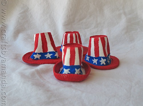Miniature Uncle Sam Hats