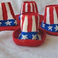 Miniature Uncle Sam Hats
