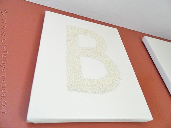 Kitchen Bake Sign: Epsom Salt on Canvas