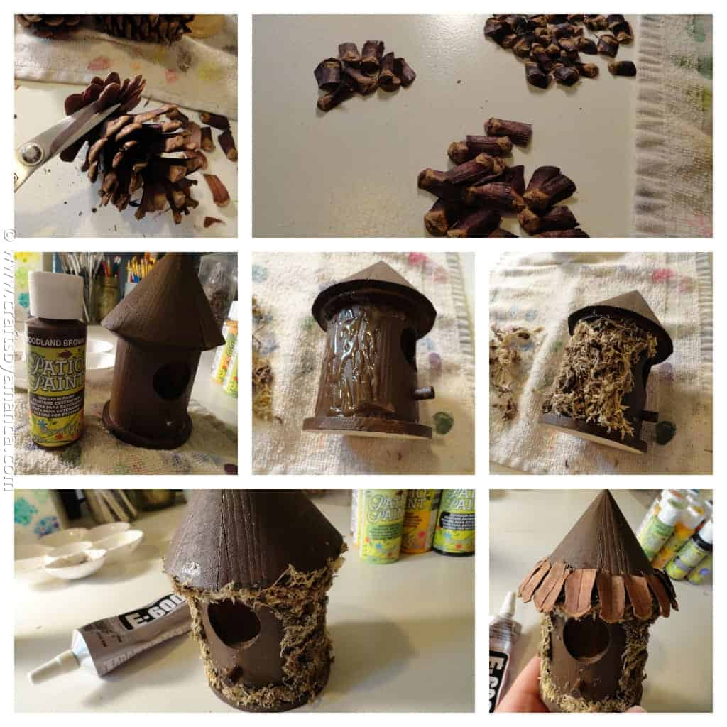 Make a Fairy House - Crafts by Amanda