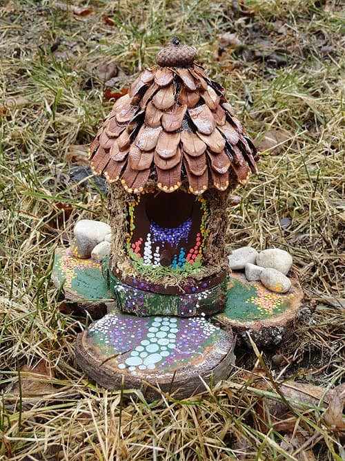 Make A Fairy House Crafts By Amanda