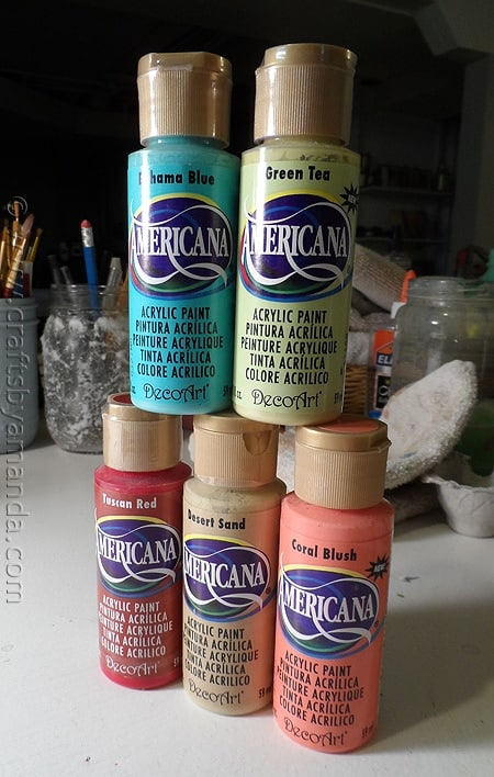Americana paint colors