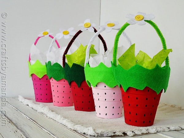 Strawberry Treat Cups