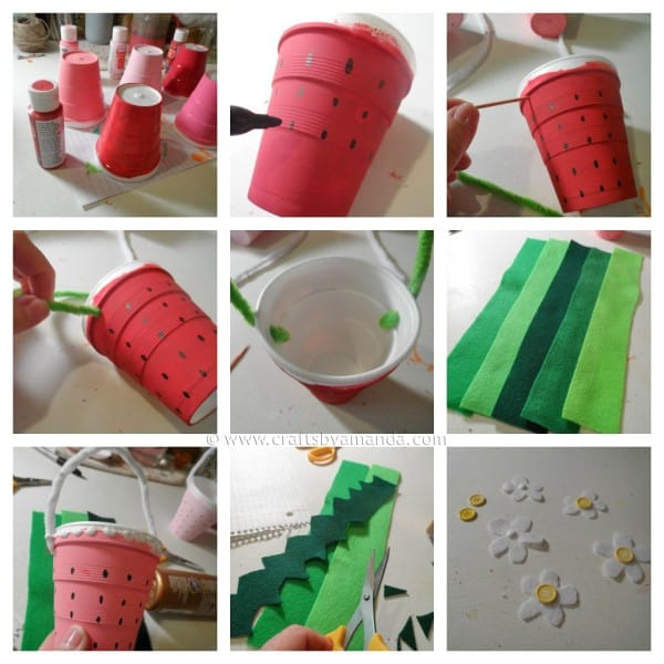 Strawberry Treat Cups steps