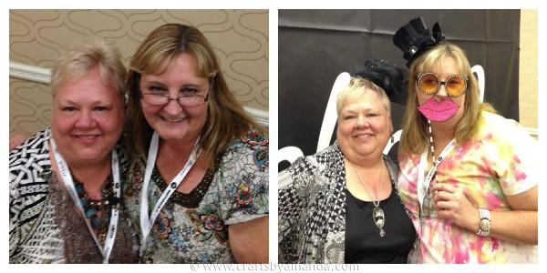 Me and Jo Pearson - CraftsbyAmanda.com