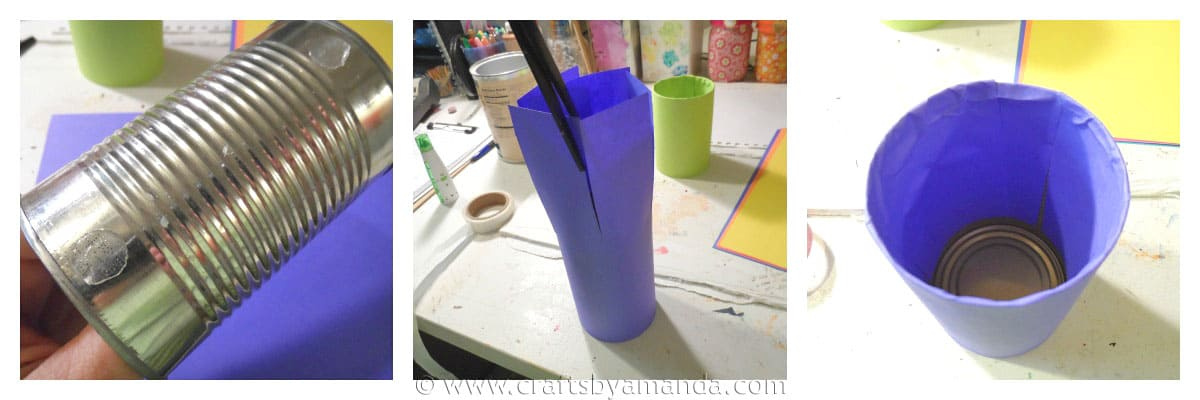 steps for pencil holder