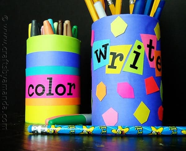 Back to School Pencil Holders – Lesson Plans